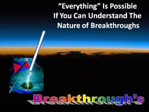 nature of breakthroughs
